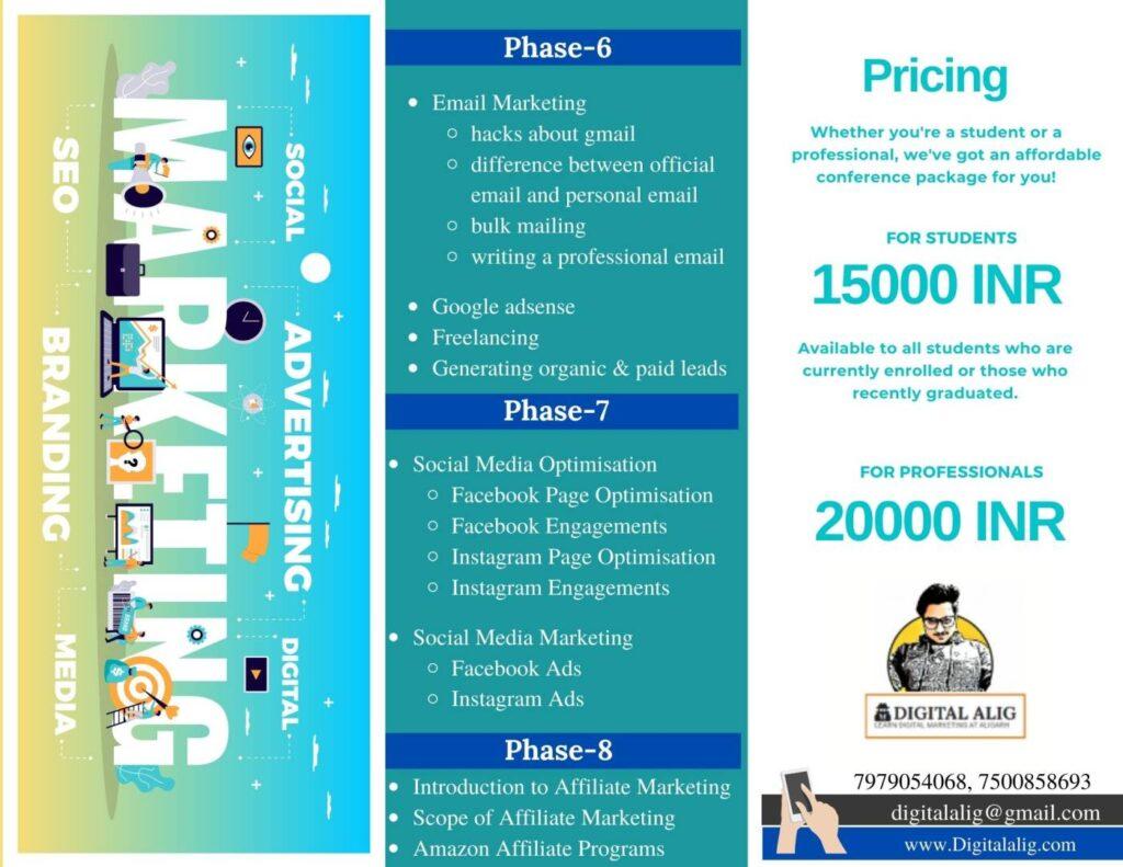 DigitalAlig Brochure for students